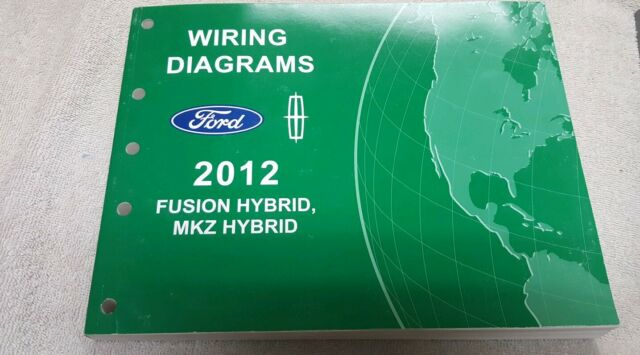 2012 Ford Fusion Hybid  Mkz Hybrid Wiring Diagram Manual