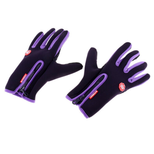 Winter Outdoor Cycling Sport Full Finger Warm Gloves Touch Screen Anti-skid
