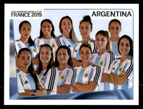 PANINI Women/'s World Cup 2019-Team Photo Argentine Nº 291