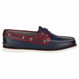 o 2 Homme Chaussures rouge Marine Top eye Bateau A sider Sz Or Nib Sperry Coupe rdxthQCs