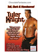Tyler Knight Black Male Blow Up Doll wtih Dong - Bachelorette Party