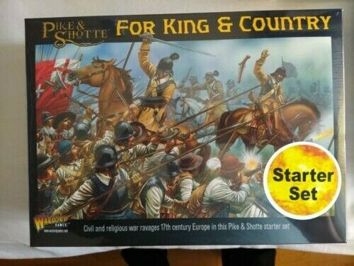 FOR KING AND COUNTRY STARTER - PIKE & SHOTTE-WARLORD GAMES -