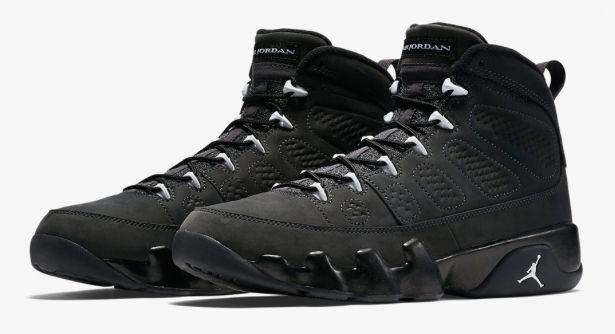 new concept ea9ae 3ae26 Nike Air Jordan 9 Retro IX Anthracite White Black 302370-013 OREGON SZ 2Y~14