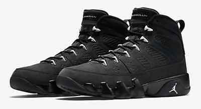 Nike Air Jordan 9 Retro Ix Anthracite Blanc / Noir