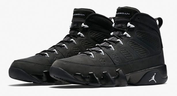Nike Air Jordan 9 Retro IX Anthracite White Black 302370-013 Oregon Sz 2y  14 8  eBay