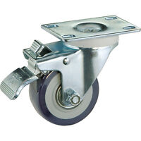 3 Casters, Total-lock Swivel (plate Mount), Sold In Pairs on Sale