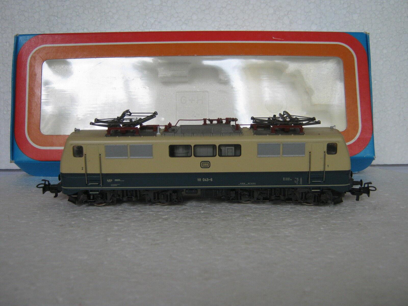 HO 3042   e-Lok btrnr 111 043-6 DB  rg/cf/138-48s8/4