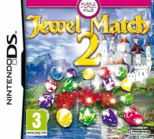 Jewel Match 2 (Nintendo DS Game) *VERY GOOD CONDITION*