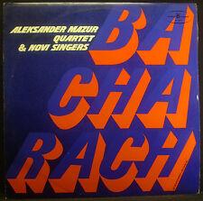 LP ALEKSANDER MAZUR QUARTET & NOVI SINGERS - bacharach