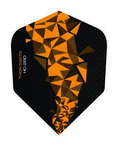 Dart-Flights-150-micron-Flight-orange-schwarz-orange-darts-flights-150-mic-F2