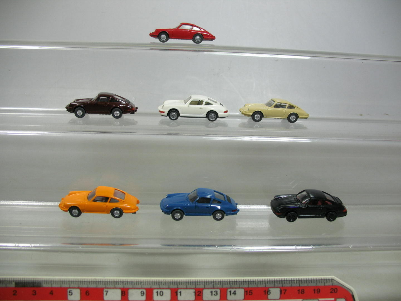 AF135-0,5 x Wiking H0 Car   Model Porsche  Carrera 4 Cabriolet +911 C etc.