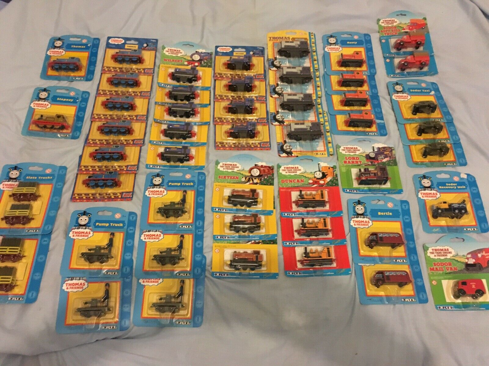 Thomas The Tank Engine, Ertl, Die-Cast Boxed, Carded, Unopened, Job Lot X48
