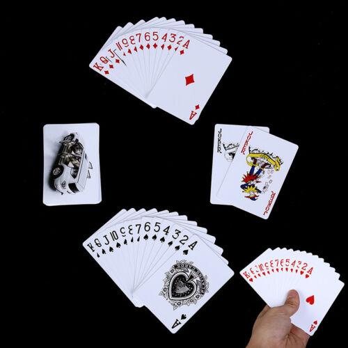 Poker-Karten wasserdicht haltbare PVC-Plastik-Spielkarten Neuheit Poker Card CN