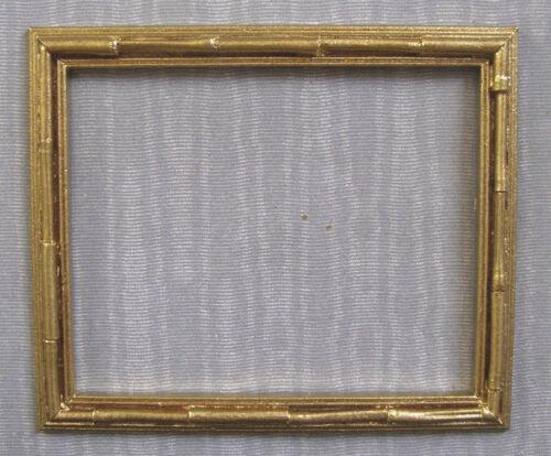 "PICTURE  FRAME ~  /"" BAMBOO /""  ~ Jim Coates ~  Dollhouse Miniature ~ 1:12 scale"