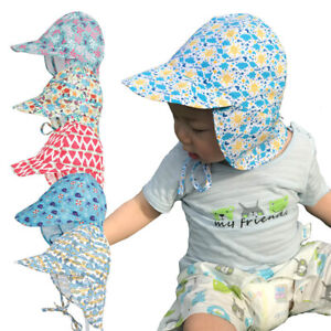 Baby Kids Summer Sun Cap Infant Boy Girl Beach  Bucket Hat Visor Cap Headwear