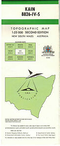Topographic-Map-KAIN-1-25-000-8826-IV-S-New-South-Wales