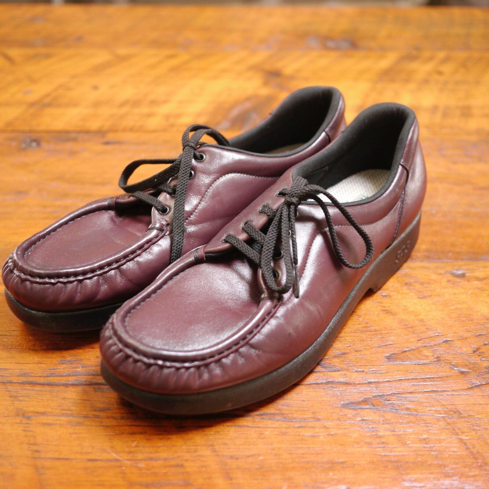 WOMENS Take Time SAS Tripad Comfort Burgundy Leather USA shoes 11.5 42.5