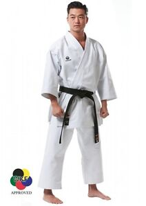 Tokaido-KARATEANZUG-TOKAIDO-KATA-MASTER-WKF-12-OZ-WEIss-Karate-Gi-Cotton