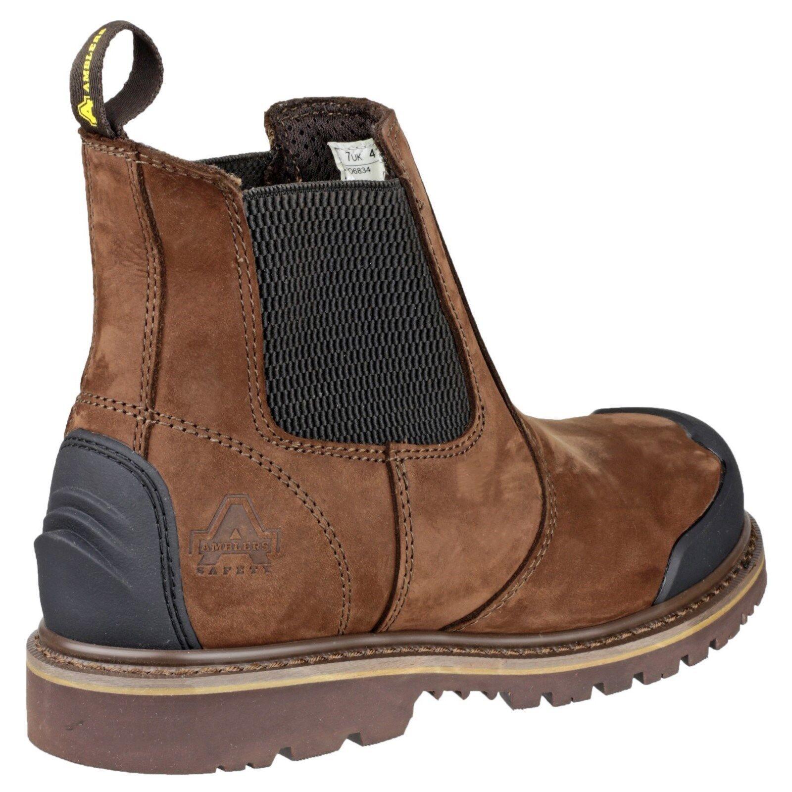 MENS AMBLERS FS996 WATERPROOF SAFETY WORK BOOTS SHOES HIKER  STEEL TOE CAP SIZE