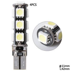4-T10-13SMD5050-lampe-accessoire-de-voiture-lumiere-blanc