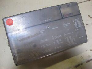 BMW E21 320i 323i '77-'83 Fusebox Cover / GC Used / Fuse Box Wiring Harness  | eBayeBay