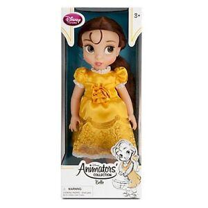 "NEW Belle 16"" Princess Doll - Disney Store Animators Collection"