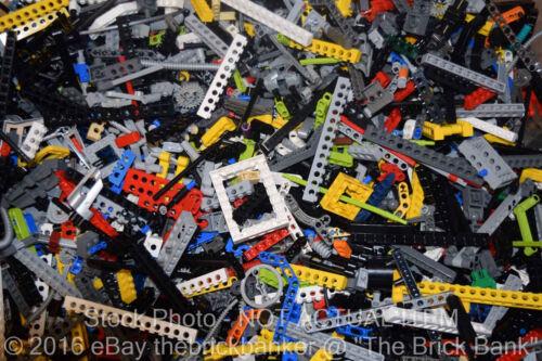 LEGO 4lb TECHNIC//MINDSTORMS~1.5x1600 Pieces-SANITIZED-Bulk Pound Lot Beams Gears