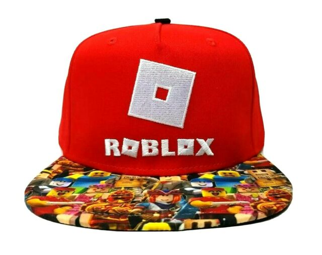 Roblox Official Licensed Boys Snapback Hat Cap Youth One Size