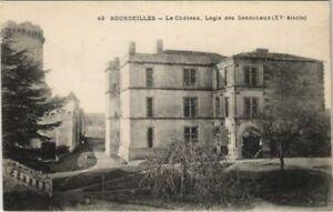 CPA Bourdeilles - Le Chateau - Logis des Senechaux (1081753)