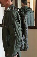 Parachute Rig Military 28 ft.Diameter with aviator's bag and flight suit