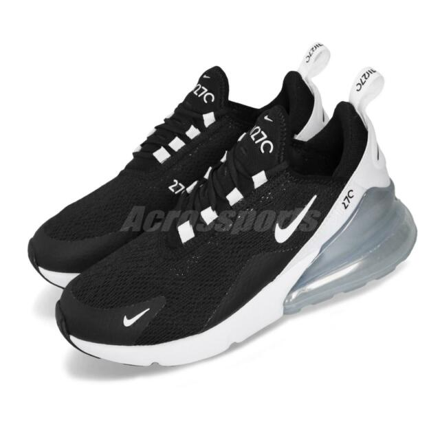 Nike Wmns Air Max 270 Black White Women Running Casual Shoes Sneakers AH6789 013