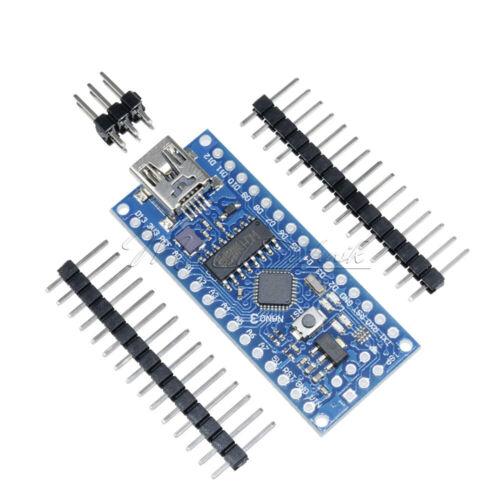 5PCS USB Nano V3.0 ATmega168 Mini-controller CH340G 5V 16M Board For Arduino