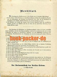 das bild wird geladen merkblatt bewerbung um familienunterstuetzung kreisauschuss teltow ca 1914 - Ca Bewerbung