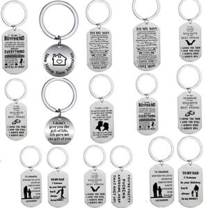 Valentines Day Gifts Lover For Him Her Keyring Keychain Love Couple