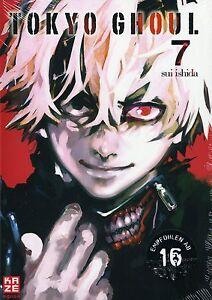 Tokyo Ghoul 7-allemand-le Vent Se-manga-article Neuf-afficher Le Titre D'origine PréVenir Et GuéRir Les Maladies