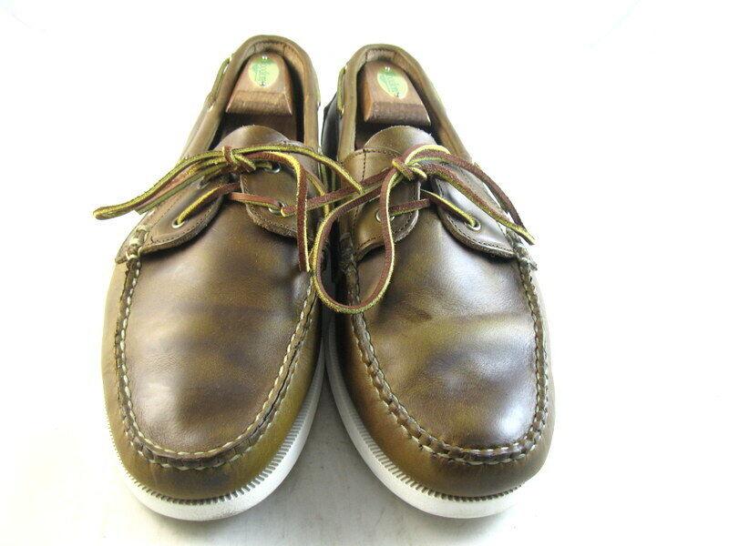Allen Edmonds  Maritime  Chaussures bateau 12 D marron (1167)