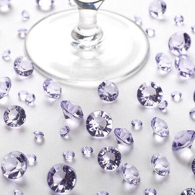 Tischkristalle flieder - Tischdeko Hochzeit - 100 g