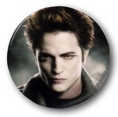 EDWARD CULLEN - 1 inch / 25mm Button Badge - Twilight Robert Pattinson RPattz L