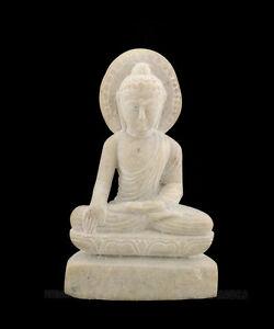 Statua Di Budda Scultura IN Pietra Ollare Budda Medicina S2 G