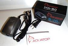 Aquatop MA-80 Million Air Aquarium/Hydroponic Electric Pump 5-10 Gallon Tank New