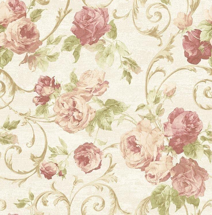 Essener Tapete Italian Life 20550 Ornament Blumen Vliestapete Vinyltapete Vlies