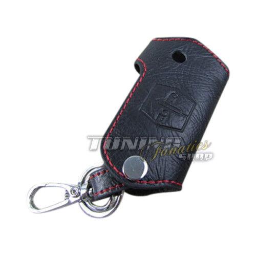 Schlüsseltasche Schlüsseletui Schlüssel Etui ECHT-LEDER ROT für Mazda