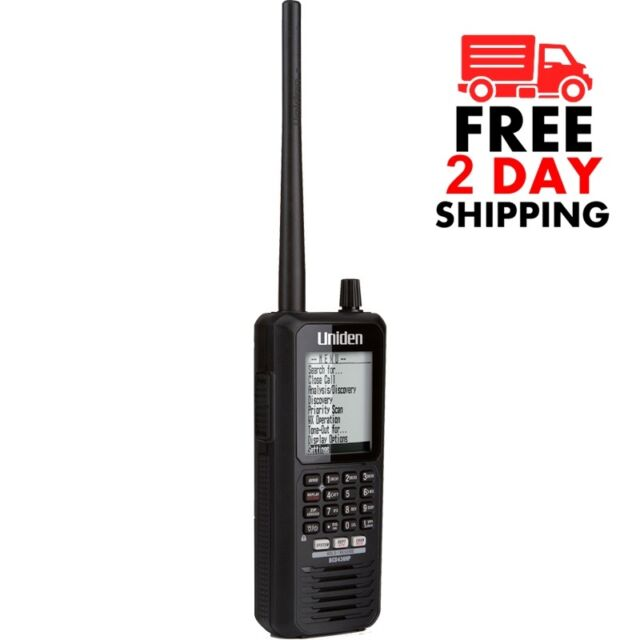 Uniden BCD436HP Handheld Digital Scanner P-25 PHASE I & II X2 TDMA Police  Fire