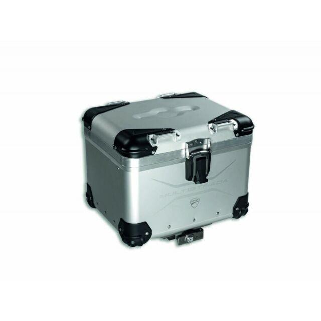 Ducati Multistrada Aluminum Top Case Set 96780851A NEW DUCATI ORIGINAL stocked