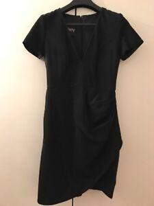 ALEX-PERRY-Black-Dress-Size-10