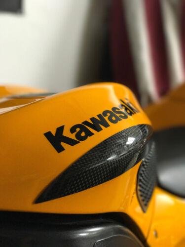 KAWASAKI ZX-10R 2004-2007 Fibre de Carbone Réservoir Sliders Protections Guards