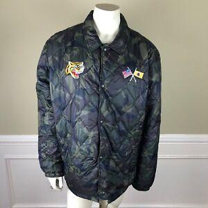 d96db6b96eb91 Polo Ralph Lauren Japan Tiger Military Airborne Camo Jacket Coat 2XL ...