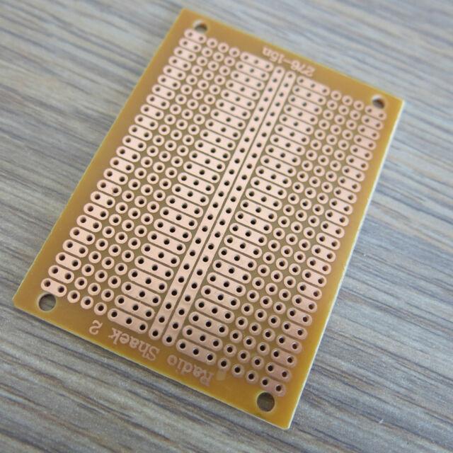 10x prototype Stripboard Veroboard 5x7cm 2-3er platine Breadboard circuit board