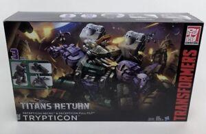 Nouveau!   Transformers Generations Titans Retourner la classe Titan Trypticon scellée 630509599868