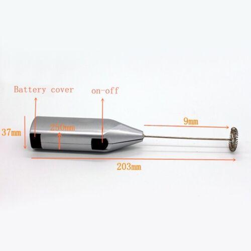 Mini manipulés café lait électrique Agitateur Cuisine Fouet Batteur oeufs batteur NEUF